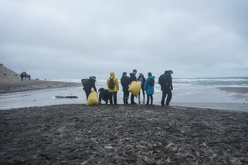 HF Imagine renser stranden i Klitmøller